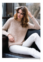 29513 Sweater med raglan